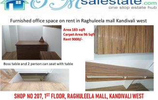 Furnished office in Kandivali west
