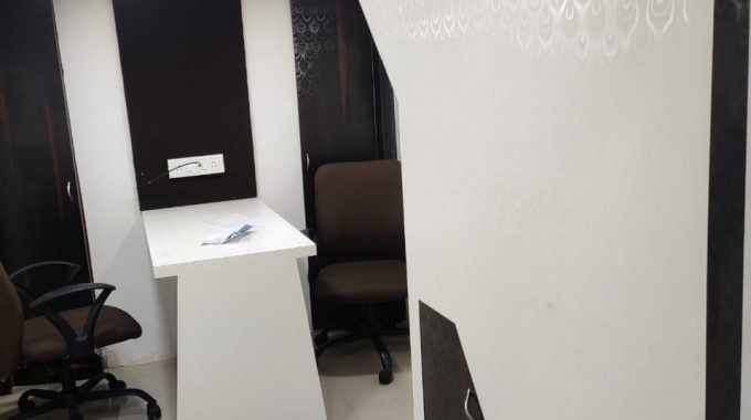 Furnished office space on rent in kandivali